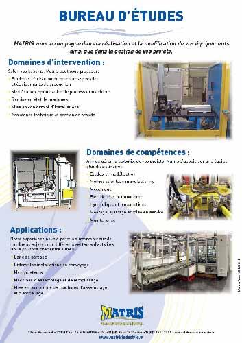 bureauetudes Matris industrie Transfert maintenance