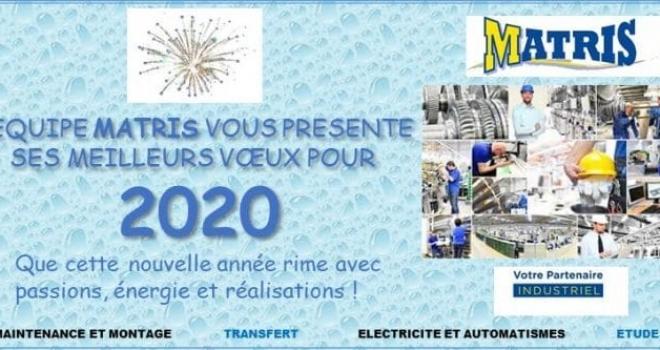 VŒUX 2020: Nouvelle année, nouveaux projets